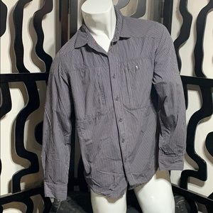 The North Face Striped Button Up Shirt